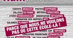 Manifestation le 19 mars - Le Second degré à Paris !